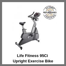 Life Fitness 95Ci Upright Exercise Bike