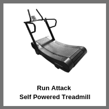Run Attack Self Powered Treadmill