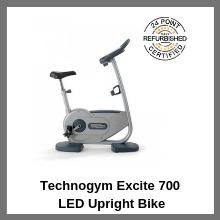 Technogym Excite 700 LED Upright Bike