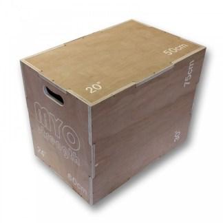 wooden 3-1 plyo