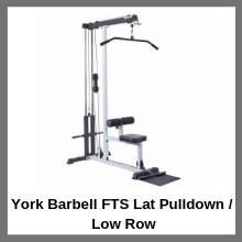 York Barbell FTS Lat Pulldown Low Row