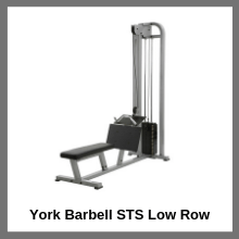 York Barbell STS Low Row