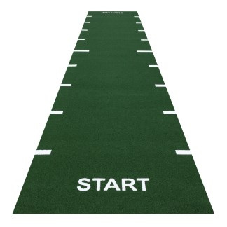 Heavy Sprint Track Green (Line Markings Start and Finish)