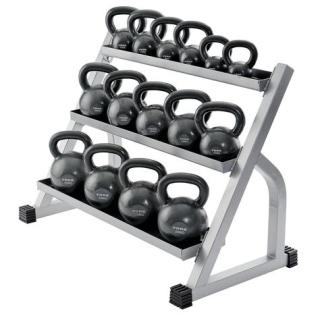 York Barbell 3 Tier Kettlebell Rack