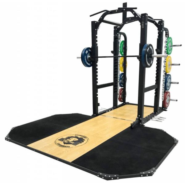 power rack and platform