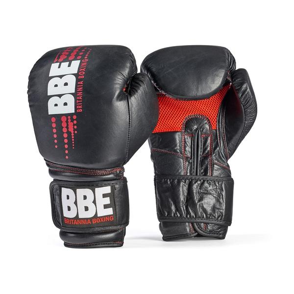BBE CLUB Leather Sparring & Bag Boxing Gloves1
