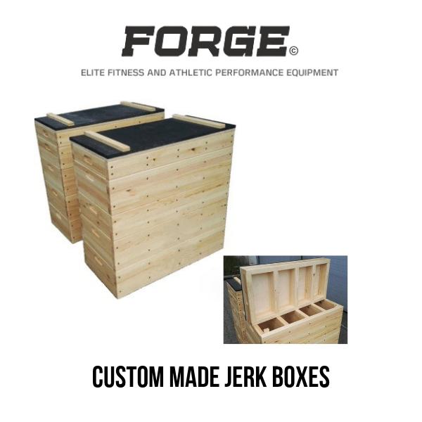 Forge Fitness Custom Made Jerk Boxes