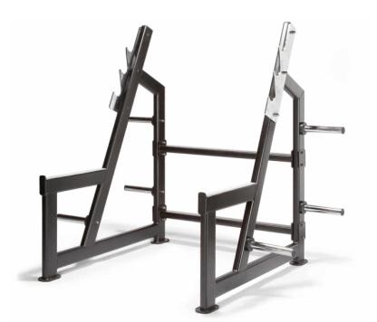 Endura Fitness PRO TRAIN Olympic Squat Rack