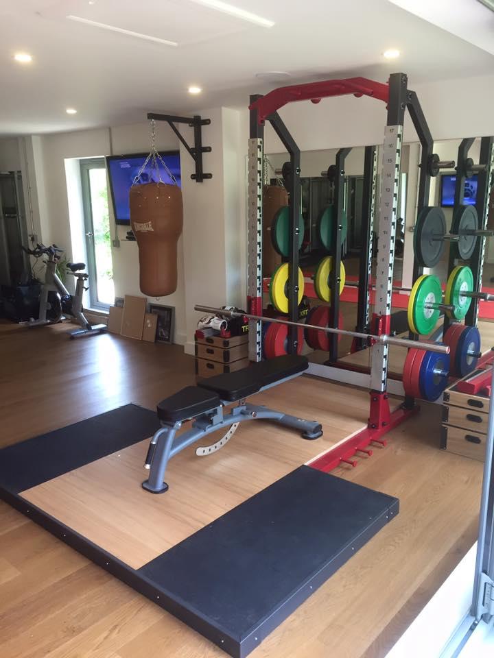 Forge Fitness Elite Half Rack