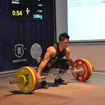 Crossmaxx Weightlifting Olympic Competition Bar - 20kg Men2