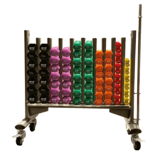MYO Studio Dumbbell Full Package and Rack1