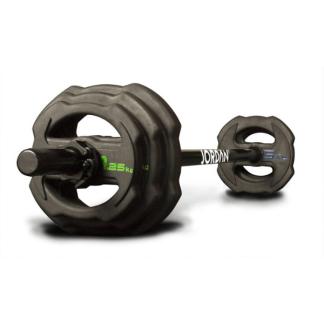 Jordan Fitness Ignite V2 Rubber Studio Barbell Sets & Plates
