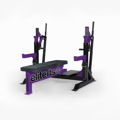ELITEFTS™ Signature Elite Competition Olympic Bench Purple