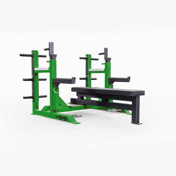 ELITEFTS™ Signature Competition Bench Evergreen