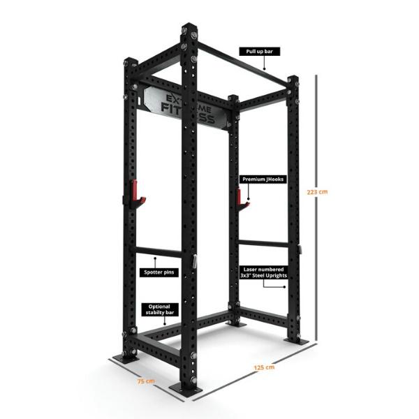 Extreme EX-PR-400 Power Rack1