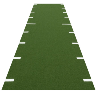 Artificial Grass Sprint Tracks with Metre Markings