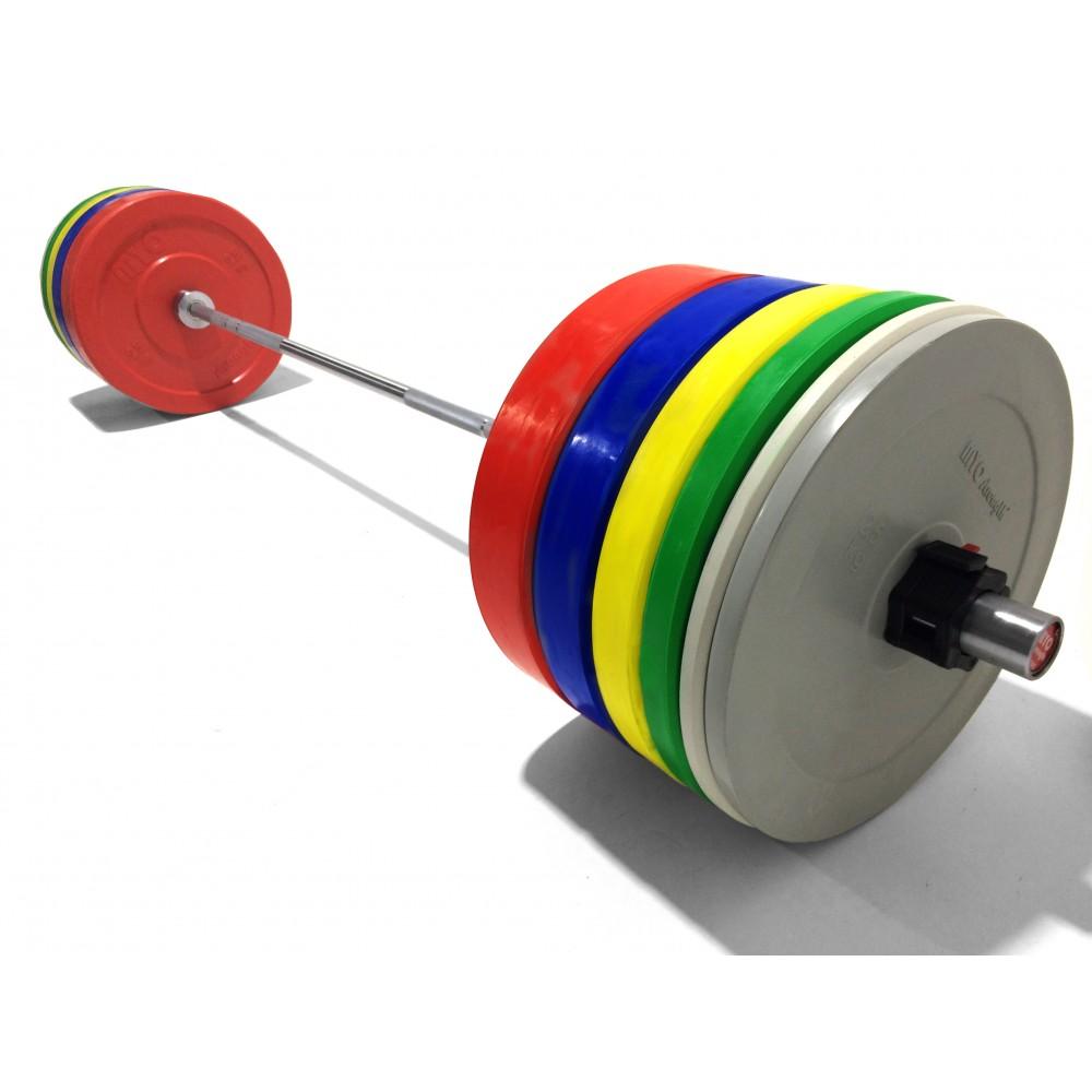 Myo Strength Olympic Bumper Plates