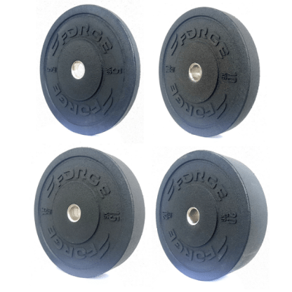 Forge Fitness Elite Olympic Bumper Plate Sets