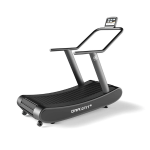 DraxFit+ Curved Treadmill