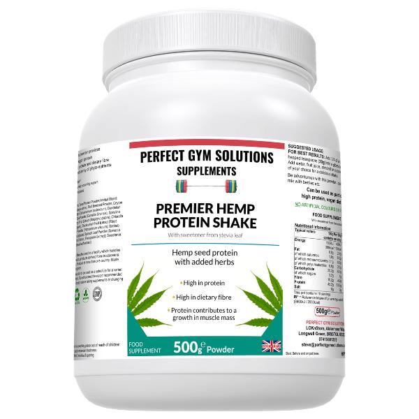Premier Hemp Protein Shake