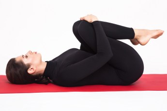 yoga apansana for hair