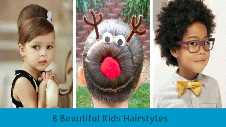 8 Beautiful Kids Hairstyles