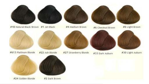Different Hair Colors for Men