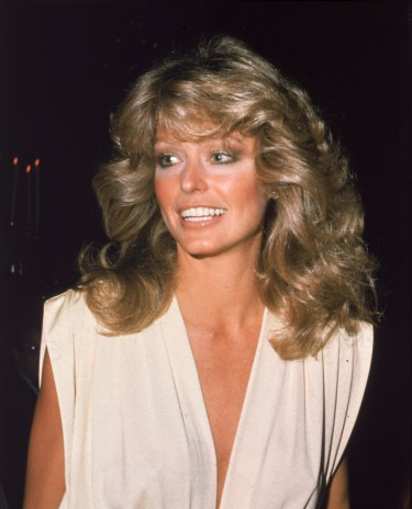 Farrah Fawcett's Feather Hairstyle