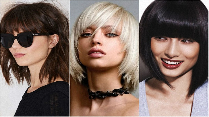 Ideas for Medium Length Haircuts with Bangs