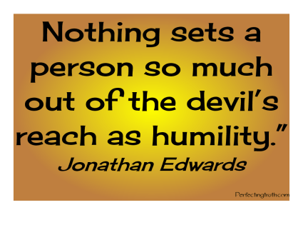 JONATHAN EDWARDS HUMILITY QUOTE
