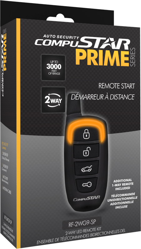Compustar 2WG9 Remote