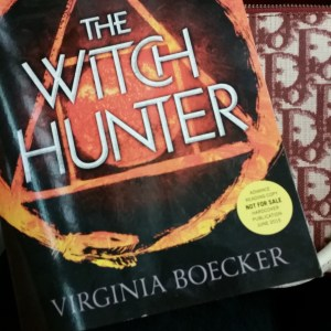 The Witch Hunter by Virginia Boecker.