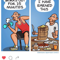 Workout to eat