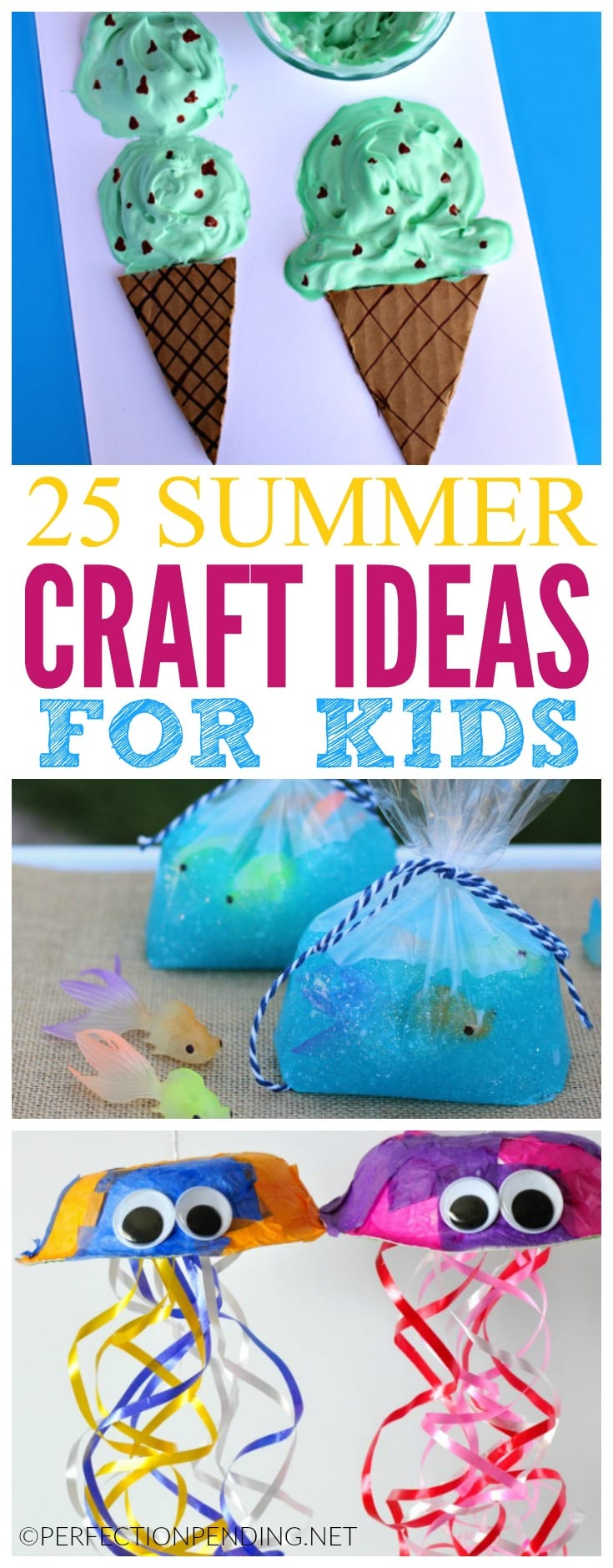 25 summer crafts for