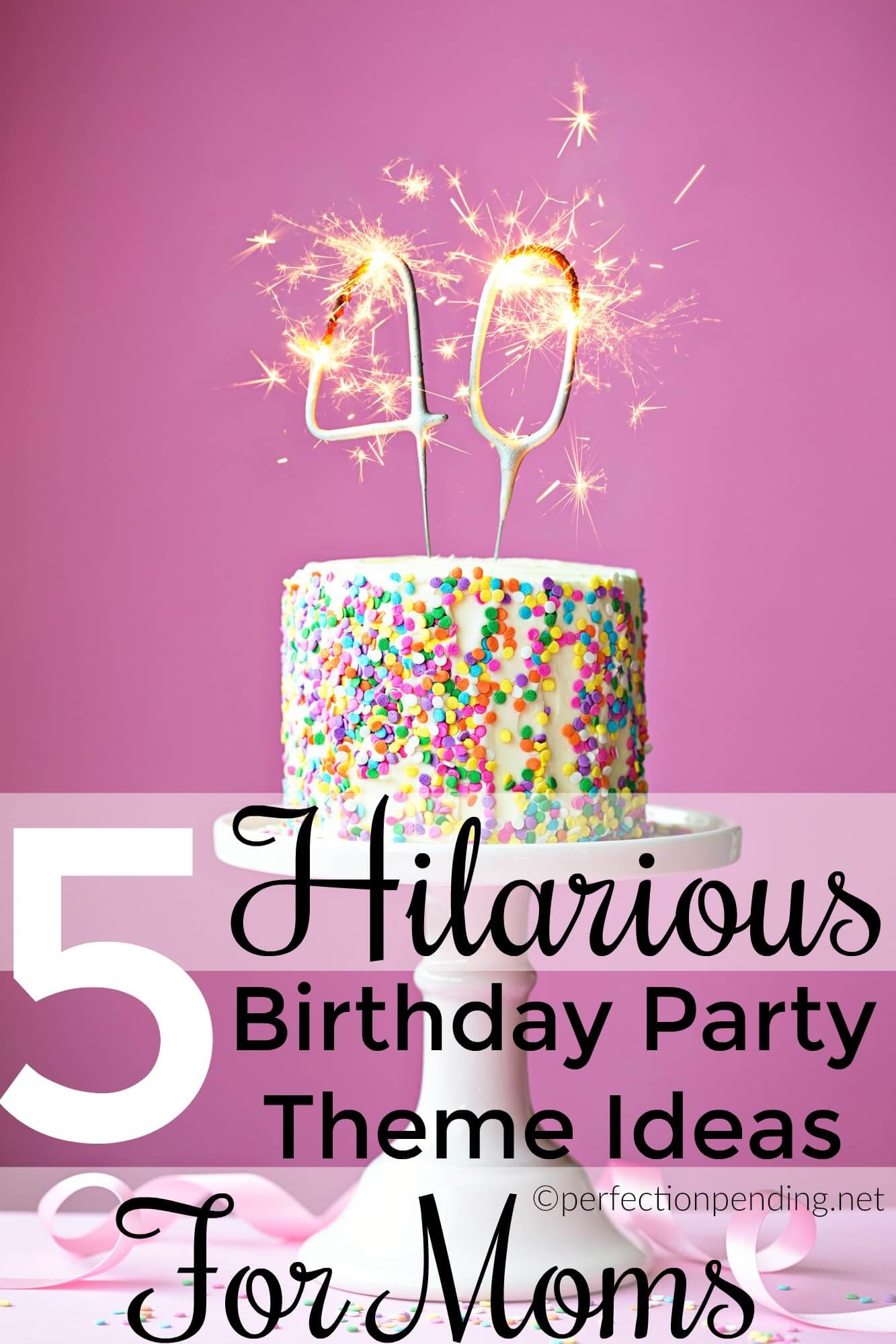 five birthday party themes