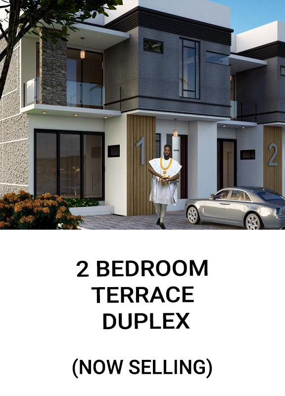Home 2Bedroom Terrace Duplex