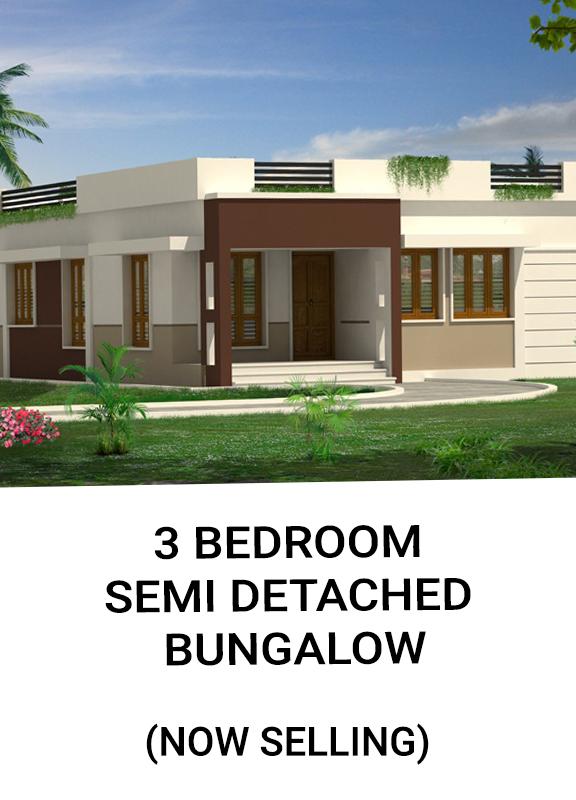 Home 3 Bedroom SemiDetached Bungalow