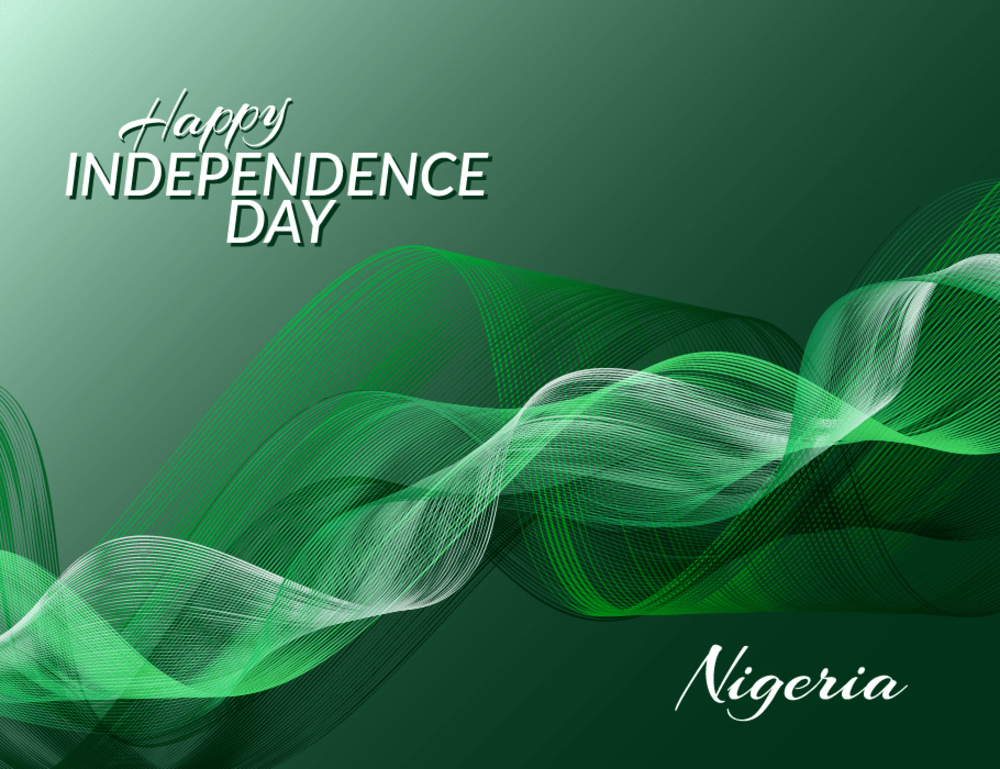 Perfection Real Estate Launches Nigeria Independence Day Promo 2019 In Grand Style independence day nigeria against background national