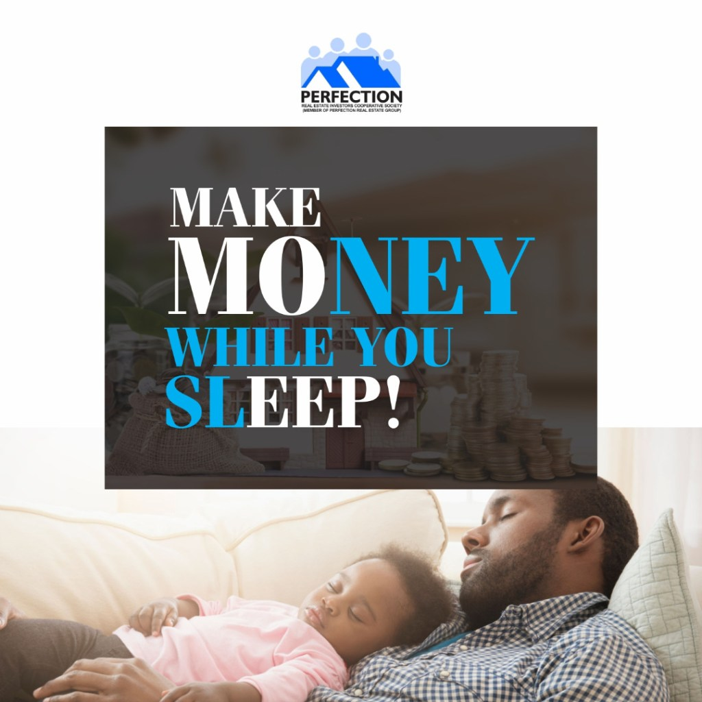 How to make your money take over the responsibility of working for you. Make Money while you sleep