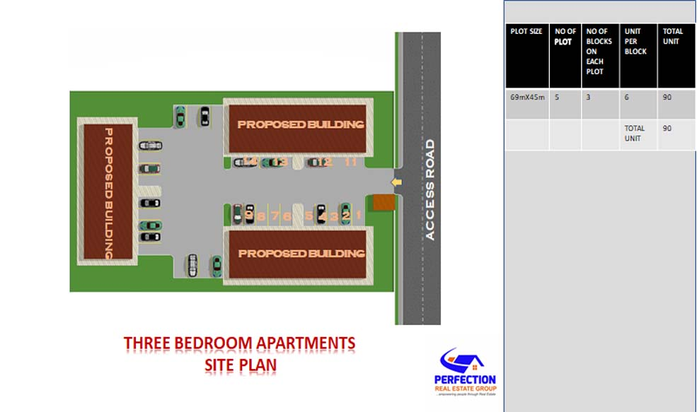 Two Bedroom Apartment 2bed3