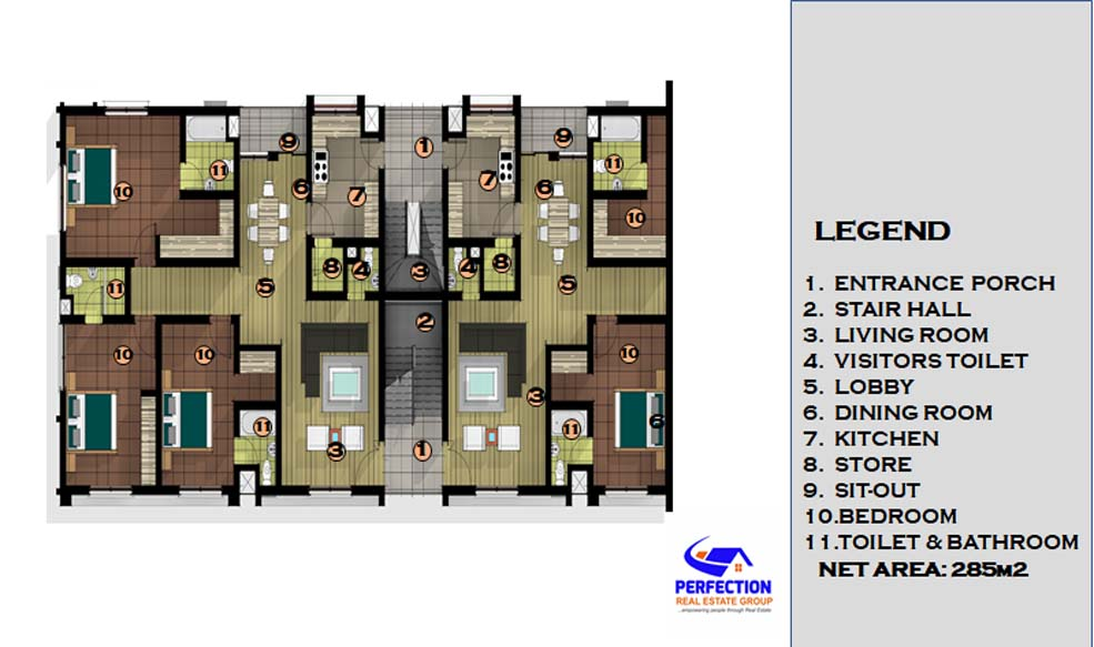Two Bedroom Apartment 2bed4