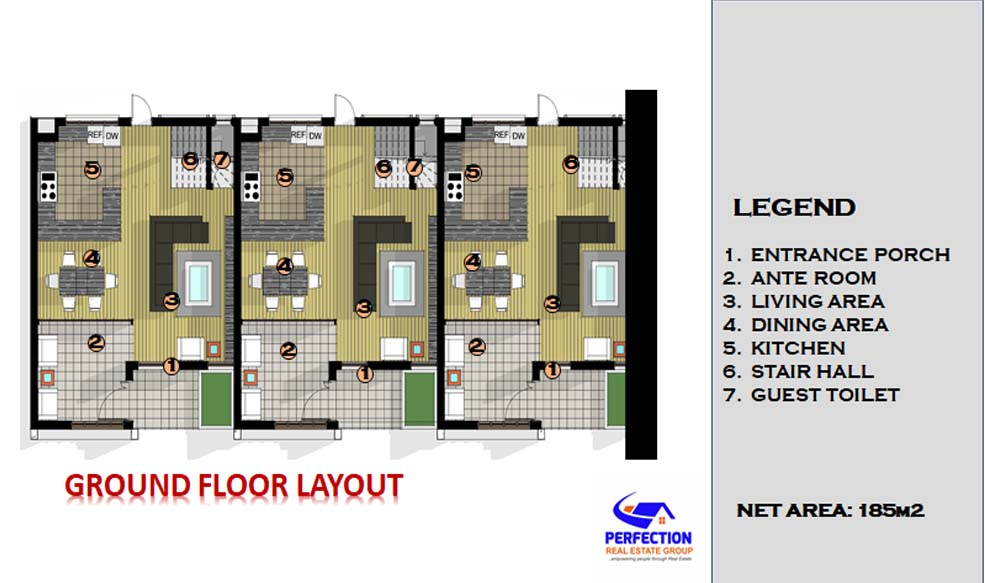 Three Bedroom Apartment 3bed5