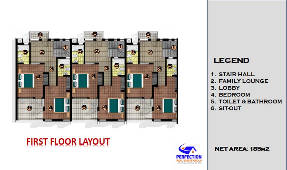 Three Bedroom Apartment 3bed6