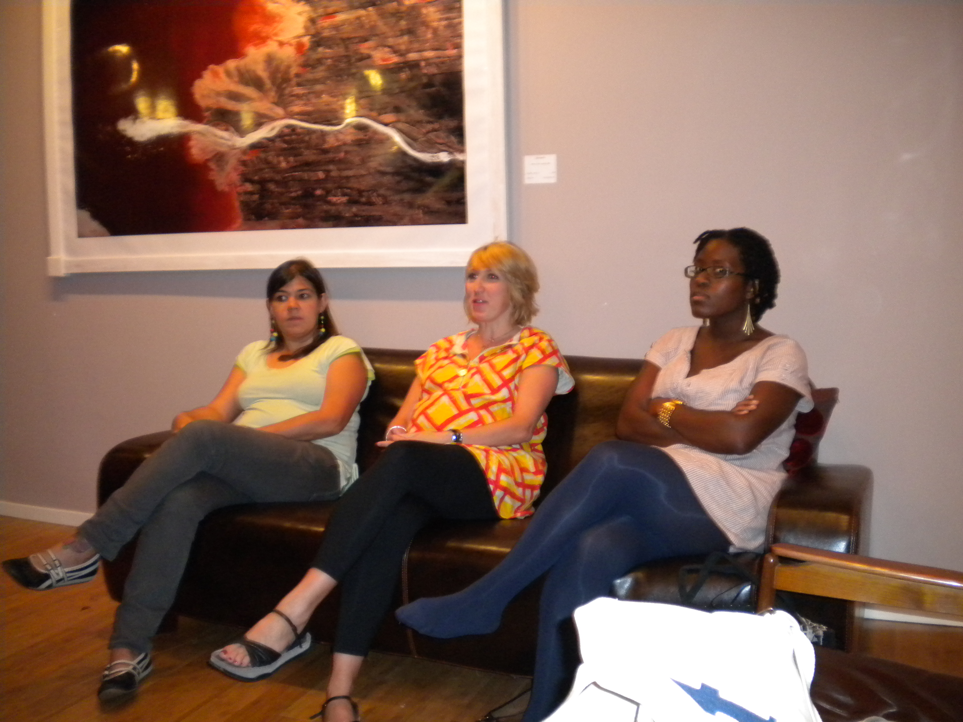 The beautiful brilliant IFP lab ladies...Rose Vincelli, Amy Dotson, Iyabo Boyd