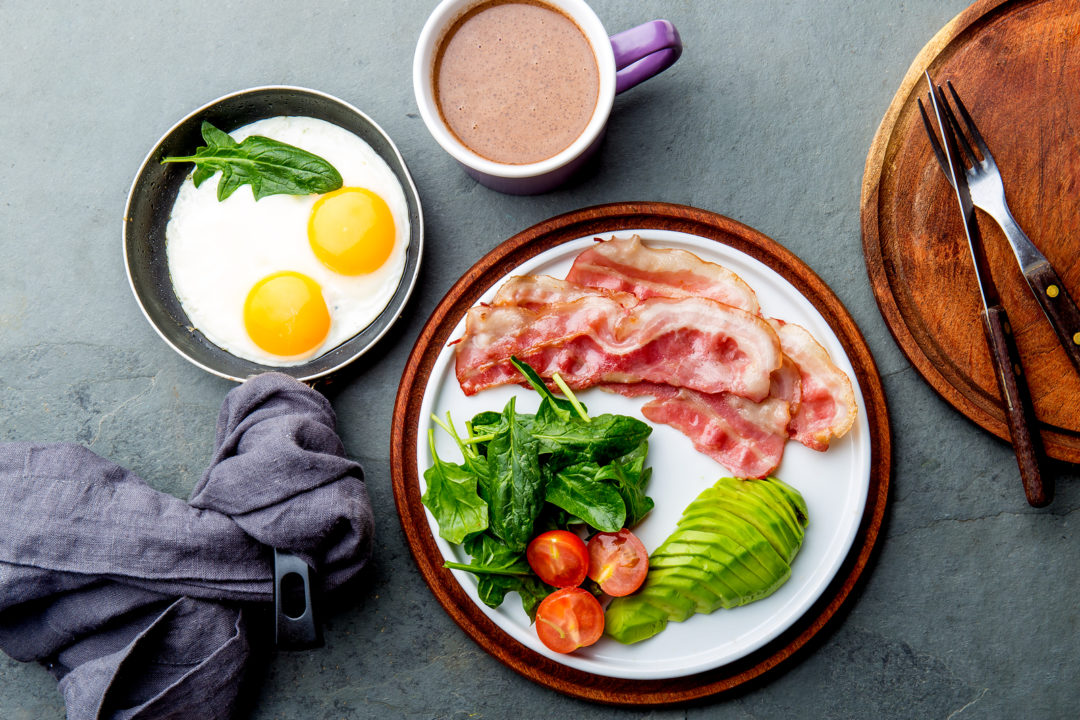 Eating Out Keto Breakfast
