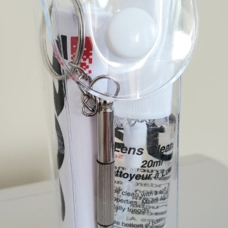 Cleaning Kit with Screwdriver key chain