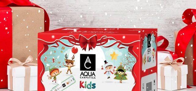 Cutiuța AQUA Carpatica Kids în ediție specială de sărbători
