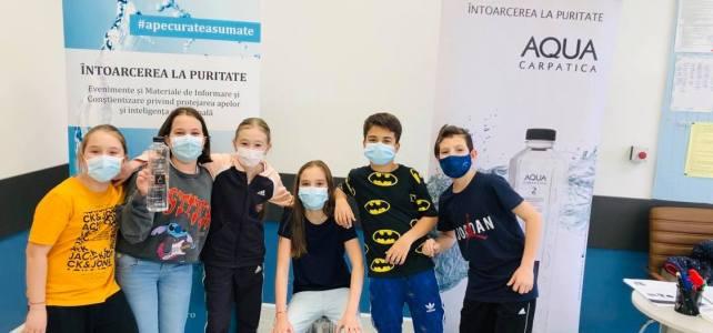 Ziua Mondiala a Apei. Valorizează apa cu elevii Şcolii Petre Ghelmez din Bucuresti