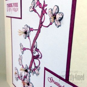 Blossom card - close up