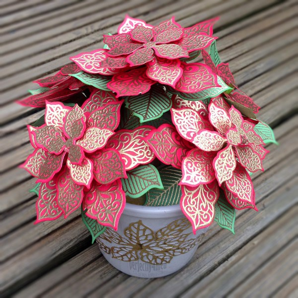 Potted Poinsettia Creative Expressions